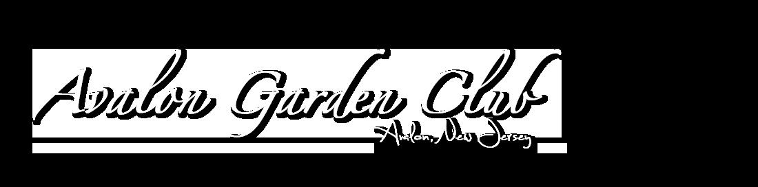 Avalon Garden Club Logo