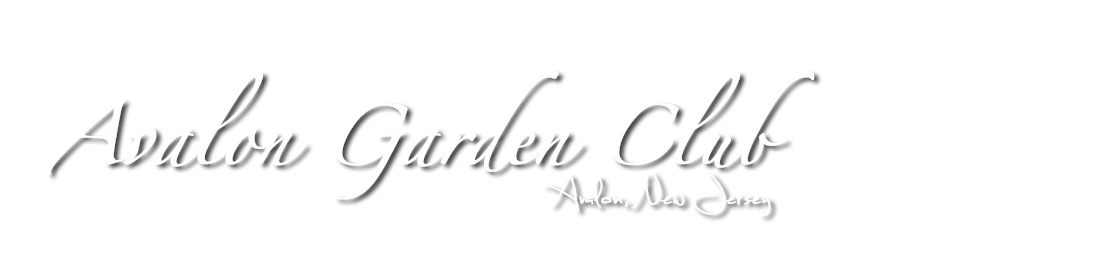 Avalon Gar­den Club Logo